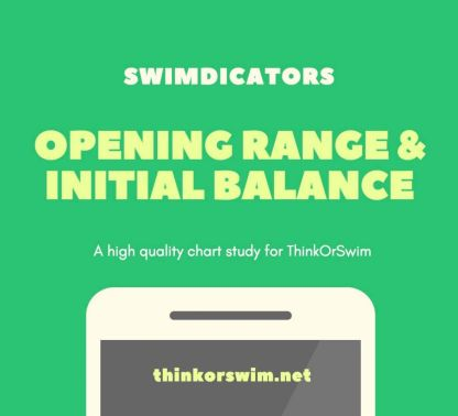 opening range and initial balance indicator for thinkorswim