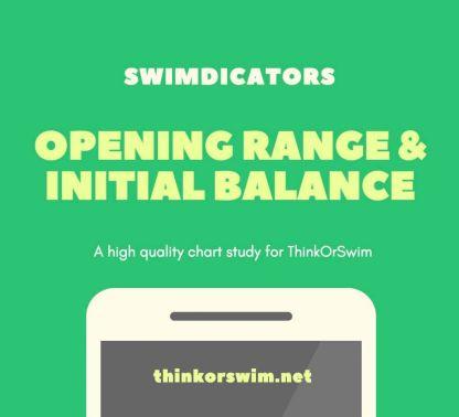 opening range and initial balance indicator for thinkorswim