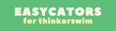 Easycators Thinkorswim Downloads