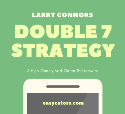thinkorswim larry connors cumulative double 7 trading strategy