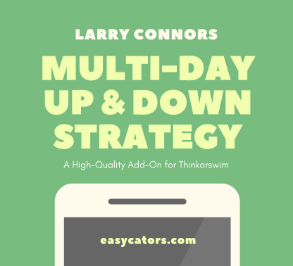 thinkorswim larry connors multi day up down trading strategy