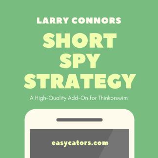 thinkorswim larry connors short spy trading strategy