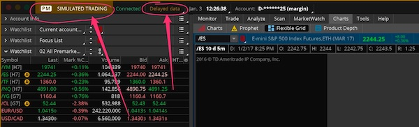 HOW TO PAPER TRADE WITH THINKORSWIM