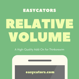 thinkorswim time based relative volume indicator