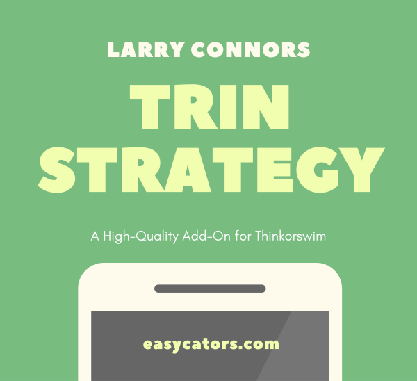 Thinkorswim Larry Connors TRIN Trading Strategy