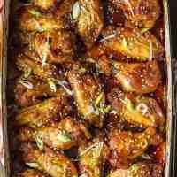 Sesame Baked Wings (Sesame Sticky Wings)