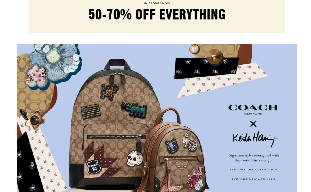 Coach Outlet: 50-70% Off Everything | Easy Couponing with