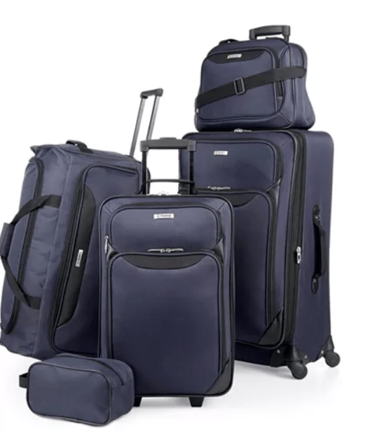 Macy's: $59.99 – Springfield III 5 Piece Luggage Set