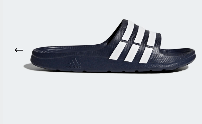 Adidas – Duramo Slides – $10