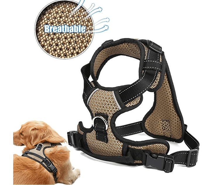 Amazon: Tornaqui Front Range Dog Harness No-Pull Adjustable, Reflective Material Straps, Breathable Harness – $5.99