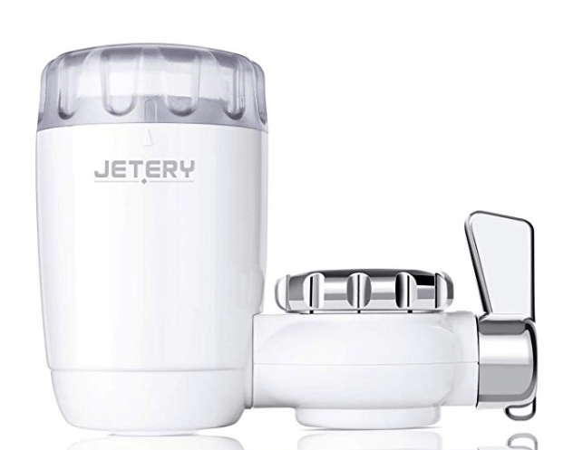 Amazon: JETERY Faucet Water Filter Kitchen Tap Water Purifier Filtration System – $4.19