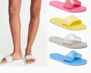 ac8f6e3c4e9f6 Old Navy: Jelly Slide Flip-Flops for Women -$2 | Easy Couponing with ...