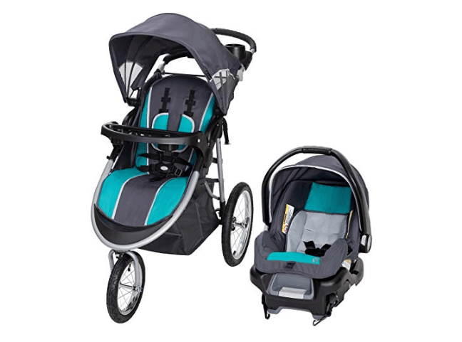 Amazon: Baby Trend Pathway 35 Jogger Travel System, Optic Teal – $99