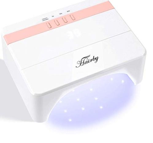 Amazon: HAIRBY Nail Lamp 48W UV Light LED Nail Dryer – $8