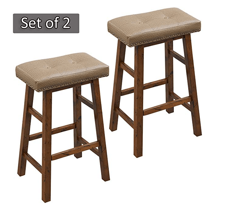 Amazon: O&K FURNITURE 30-Inch Couter Height Bar Stool Set – $37.99