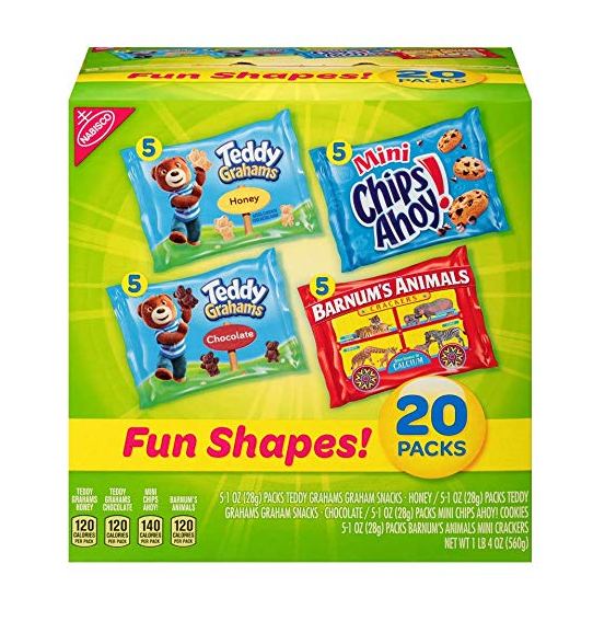 Amazon: Nabisco Fun Shapes Cookie & Cracker Mix – $4.74
