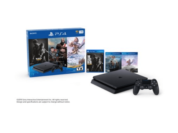 Walmart: Sony PlayStation 4 1TB Only on PlayStation PS4 Console Bundle – $199