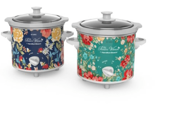 Walmart: The Pioneer Woman Fiona Floral and Vintage Floral 1.5-Quart Slow Cookers, Set of 2 – $19.88