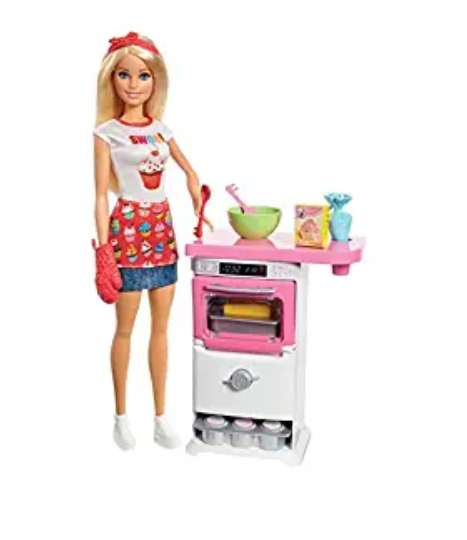 Amazon: Barbie Bakery Chef Doll and Playset, Blonde – $10.99