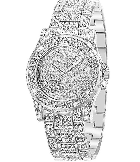 Amazon: Crystal Rhinestone Diamond Watches for Women – $11.99