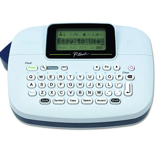 Amazon: Brother P-touch, PTM95, Handy Label Maker – $9.99