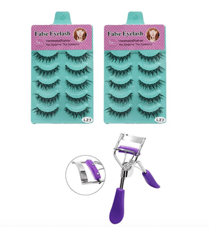 Amazon: 3D Eyelashes, HNYYZL 10 Pair – $4.66
