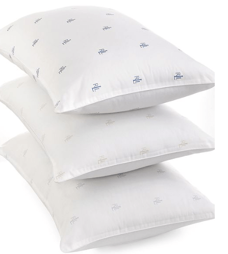 Macy's:Lauren Ralph Lauren Logo Pillows, Down Alternative – $5.99
