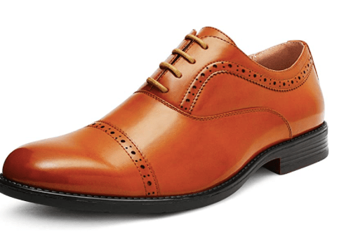 Amazon: Bruno Marc Men's Oxford Dress Shoes – $14.99