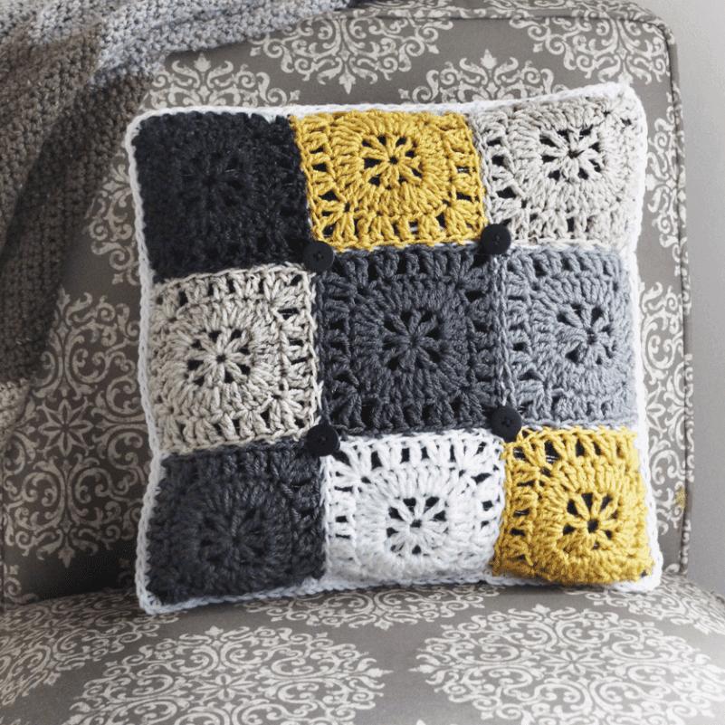 crochet pillow pattern crochet cover