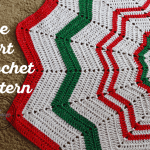 Christmas Tree Skirt Crochet Pattern Easycrochet Com