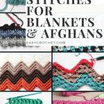 33 Unique Crochet Stitches For Blankets Afghans Easycrochet Com