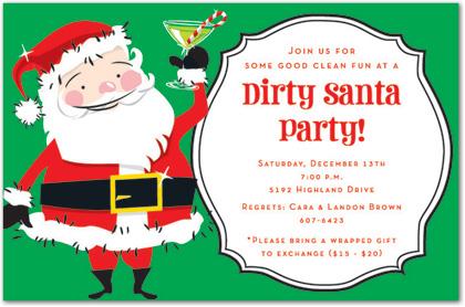 Funny Christmas Invitation