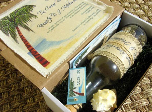 Unique Beach Wedding Invitations Easyday