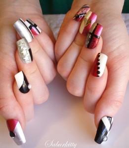 Nail Art Designs Decorating Hand