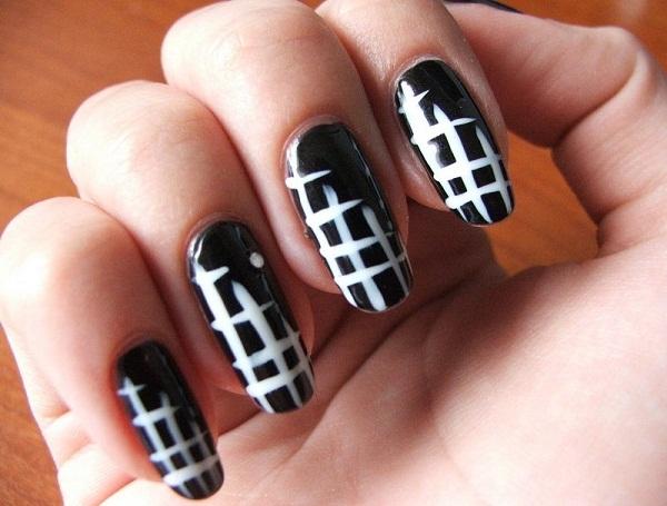 Simple Nail Design Art