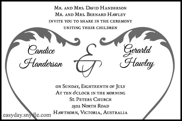 Enement Invitation Wording For Friends 3
