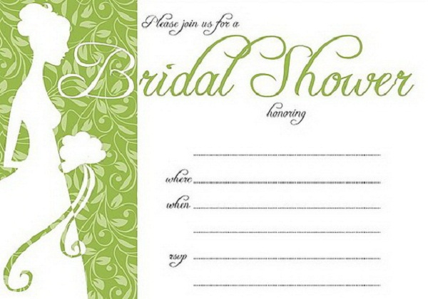 Bridal Shower Invites Templates printable etiquette best bridal – Examples of Wedding Shower Invitations