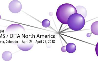 easyDITA headed to DITA North America Conference 2018