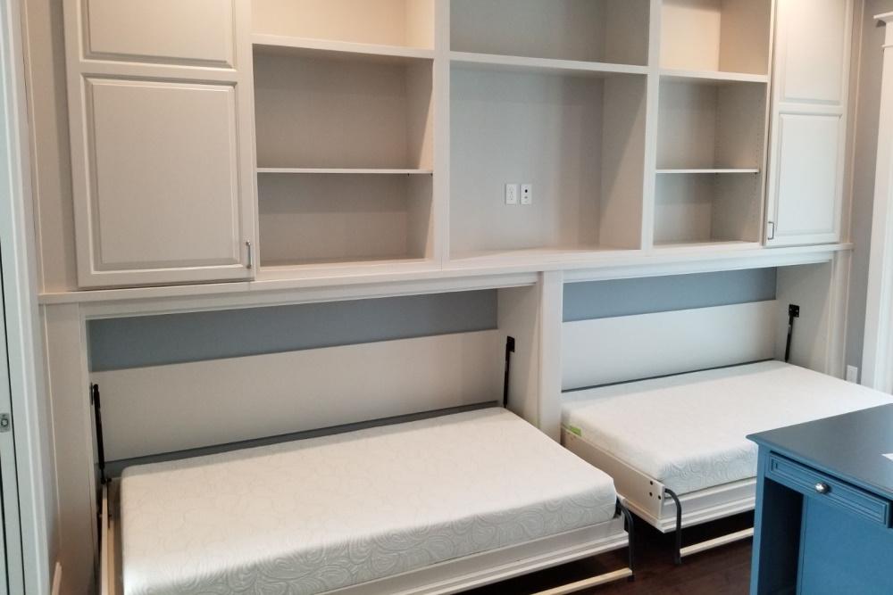 build and setup murphy bed hardware kit