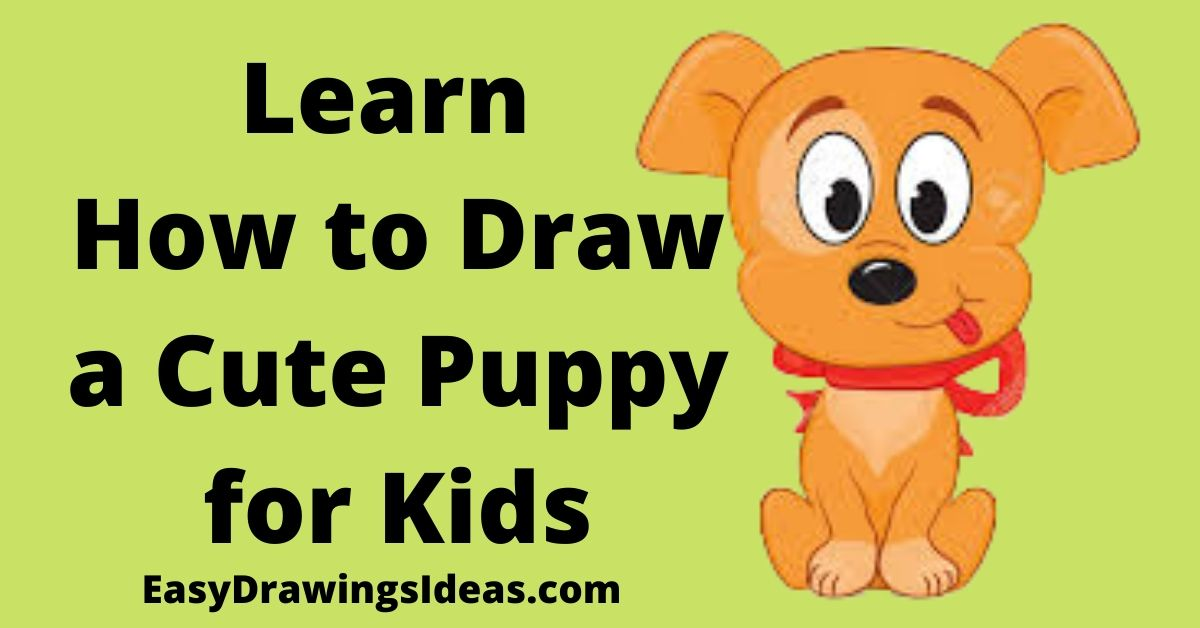How To Draw A Dog In Simple Steps 2020 Easy Drawings Ideas