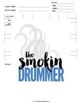 Blank Drum Chart 3