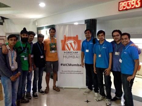 rtCampers at WordCamp Mumbai