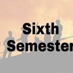 anna university sixth semester notes