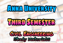 Anna University 3rd Semester Collections