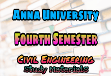 Anna University 4th Semester Collections