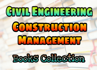 Construction Management Books Collection