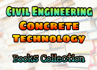 Concrete Technology Books Collection