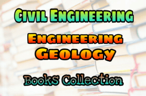 Engineering Geology Books Collection