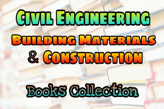 Civil Engineering First Year Books Pdf