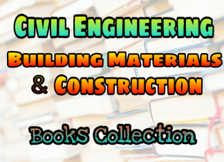 Building Materials And Construction Books